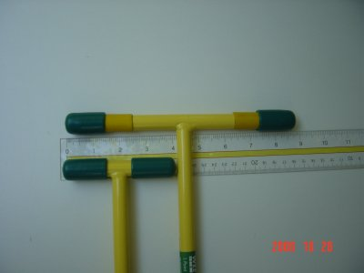 Ergonica T-Handle 8-Inch Extension Kit